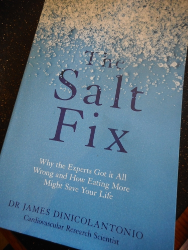 Book review - The Salt Fix by Dr. James DiNicolantonio